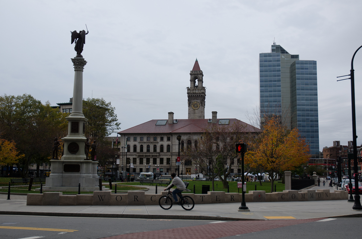 City Hall and Worcester Common